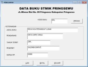data-buku ppl